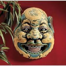wall masks wei chi gong mask plaque design toscano wall masks china