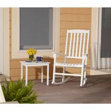 Walmart White Plastic Chairs Mainstays Outdoor Rocking Chair Multiple Colors Walmart Com