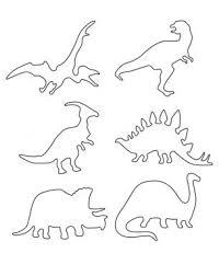 multiple dinosaur stencils printable crafts free printable