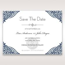 save the date card vintage save the date by adorn