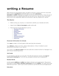 exles of resume for application hobbies to put on resume venturecapitalupdate