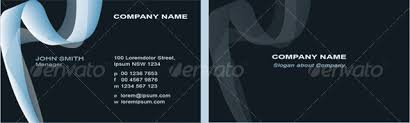back business card modern business card front and back by peterpap graphicriver
