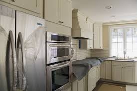 Backsplash Wallpaper That Looks Like Tile by Kitchen Cabinet White Cabinets And Dark Granite Small Desk