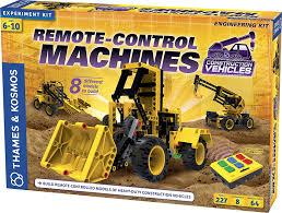 amazon com thames u0026 kosmos remote control machines construction