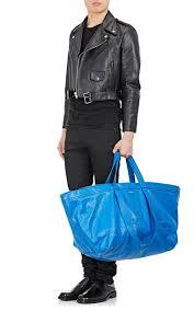 balenciaga are charging over 2500 for a blue ikea shopping