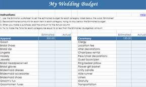 Budget Book Template Planning A Wedding On A Budget Checklist