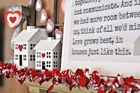 Valentine S Day Bay Decor serendipity refined blog diy repurposed valentine u0027s day mantel decor