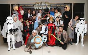 star wars party the soshal network