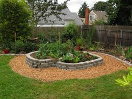 fetching easy landscaping ideas with rocks for backyard and a hill