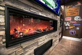 at home electric fireplaces are easy to install the topeka