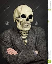 halloween skeleton masks portrait of person in skeleton mask stock image image 15510651