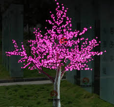artificial led cherry blossom trees artificial led cherry