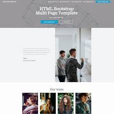 bootstrap sites templates 33 awesome free html5 bootstrap templates 2017