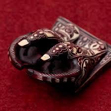 asian hand ring holder images Tirakita nepalese business card holder reddish brown cardholder jpg