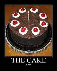 The Cake Is A Lie Meme - internet meme cakes nissan 240sx forums