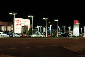 toyota car dealers car dealerships and leds implement sustainability and reduce