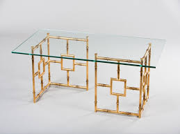 gold glass coffee table gold glass coffee table awesome am dolce vita a roundup of brass and