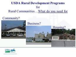 Usda Rural Housing Development Usda Rural Development Program Overview Brian Queen Community