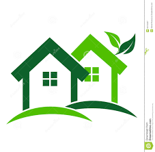 Green Homes by Green Houses Logo Stock Vector Image 52474227