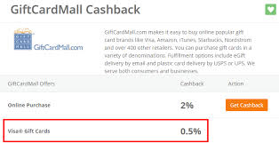 get 5 cashback on purchase another portal is paying for visa gift cards you can now get 5