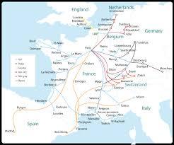 rail europe map railway tickets