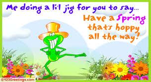 a spring jig free fun ecards greeting cards 123 greetings