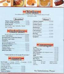 court family restaurant home city iowa menu