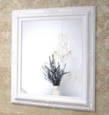 White Framed Bathroom Mirrors Gold Silver Framed Bathroom Mirrors Custom Sized Mirror