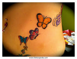 butterfly tattoos on your stomach 1