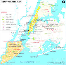 New York Area Map by Neighborhoods In New York City Within Map Of Nyc Areas
