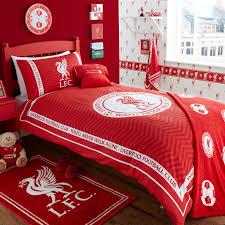 football club theme boys bedroom idea with liverpool decor theme