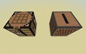 How To Make A Crafting Table Giant Crafting Table U0026 Jukebox Minecraft Project