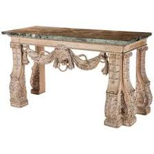 Small Oak Console Table Small Antique Limed Oak Console Table English 19th Century At