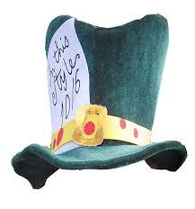 amazon com mad hatter hat clothing
