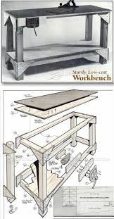 673 best workbenches images on pinterest workbench plans