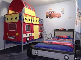 bed fire engine themed bedroom