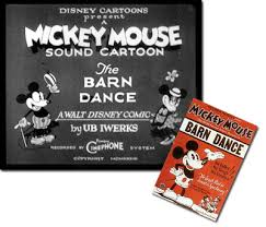 Mickey Mouse Barn Mickey Mouse Follies Black And White The Barn Dance March 14 1929