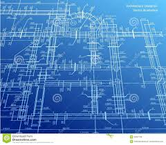 House Blueprint by Architecture Blueprint Background Vector Royalty Free Stock