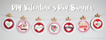 valentines banner diy s day banner artsy fartsy