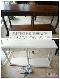 painting furniture with chalk paint by annie sloan amotherworld