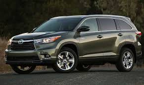colors for toyota highlander 2016 toyota highlander review specs colors release date price