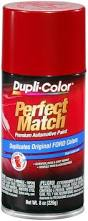 amazon com dupli color bfm0188 candy apple red ford exact match