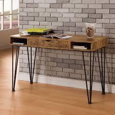 Industrial Standing Desk by Distressed U0026 Industrial Style Desks Hayneedle