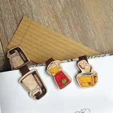 cute kitchen appliances cute kitchen appliances wooden magnetic bookmark set of 3 unique