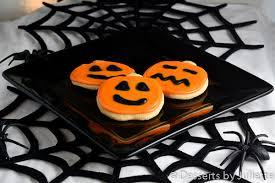 Halloween Pumpkin Sugar Cookies - halloween archives desserts by juliette