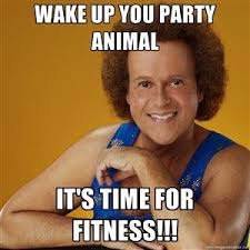 Friday Workout Meme - funny fitness friday it s 80s day at accolade fitness facebook