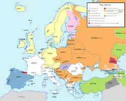 Ancient Europe Map by Oc Etymology Map Of Europe For The Words Meaning