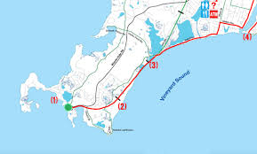 bike to fish woods hole to falmouth inner harbor via the shining