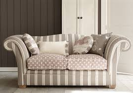 Striped Sofas Living Room Furniture Striped Fabric Sofa Home And Textiles