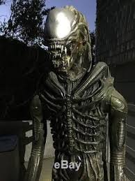 7 ft life size alien prop replica for halloween